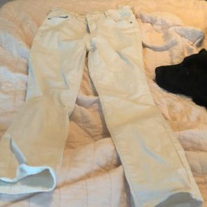 White old navy rockstar jeans